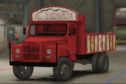 BMC Austin Al Yazmalim film kamyonu [Replace]