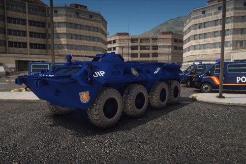 BMR CNP Blindado - Policia Nacional