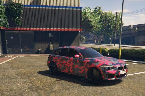 Bmw 120I  Camo Edition 2017 [Replace]