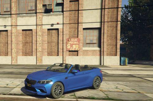 Bmw 220I CAB Pack m2  2018 [Add-On / Replace/Fivem ]
