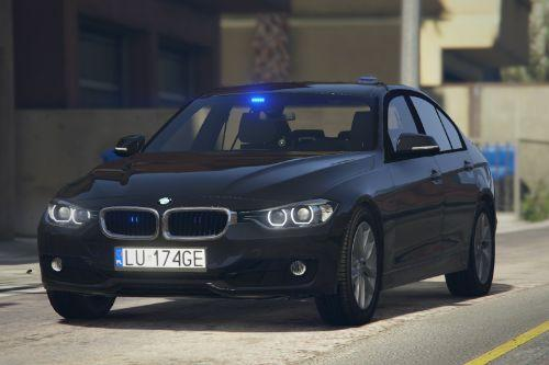 BMW 3 F30 330i xDrive - Polish Police