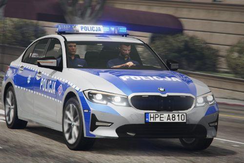 BMW 3 G20 320i Polish Police