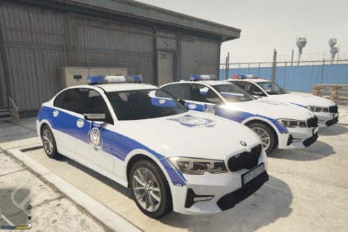 BMW 320I LIBYAN POLICE - شرطة ليبيا بي ام وزارة الخارجية