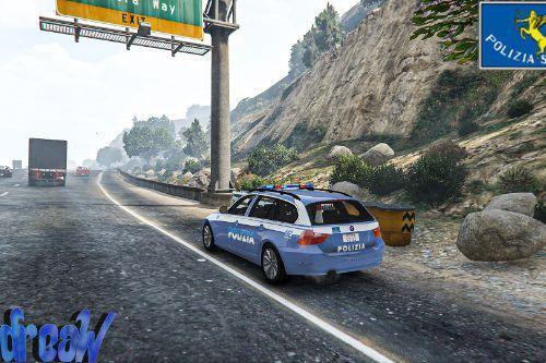 Bmw 330D - Polizia di Stato (Stradale,Postale,Anticrimine,Reparto Mobile) [Skin]