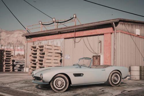 BMW 507 '59 [Add-On | LODs | Template]