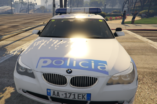 BMW 525D albanian police policia