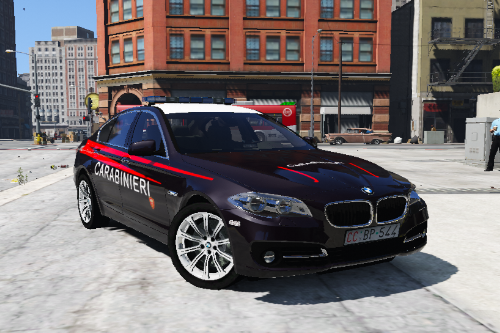 BMW 530D Carabinieri (Italian army police)