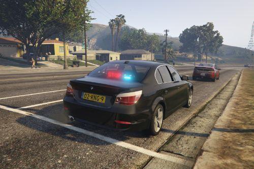 Unmarked Politie | BMW 525d e60 | Dutch/NL | ELS