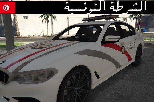 BMW 530D Tunisian Police Retexture