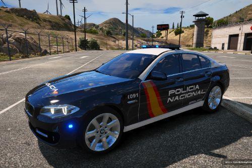 BMW 530D Policia Nacional/CNP of Spain/España[FiveM-Replace]