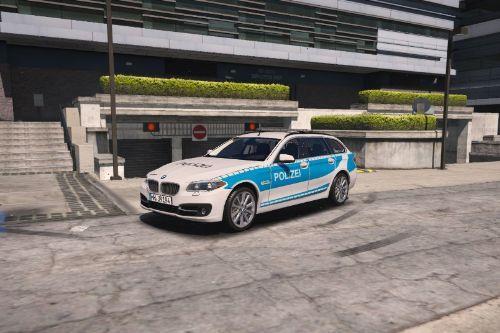 BMW 530D Touring Polizei Hamburg