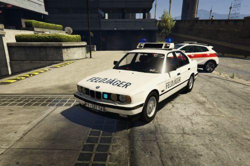 BMW 535i 1989  Skin Feldjäger [Military Police]
