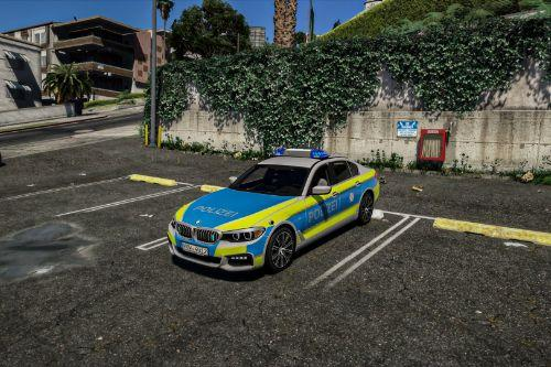 BMW 540i Xdrive Polizei NRW Paintjob