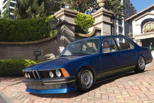 BMW 7 Series E23 [Add-On | Extras | Tuning]