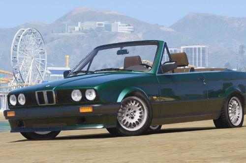 BMW E30 318i Cabriolet [Add-On]