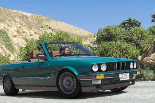 BMW E30 318i Cabriolet Phase 1 and 2 pack [Add-On | Tuning]