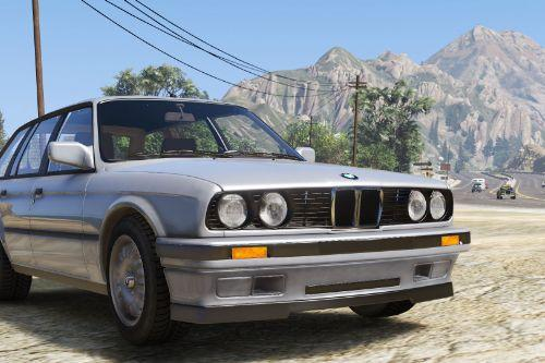 BMW E30 Touring [Add-On | Extras]