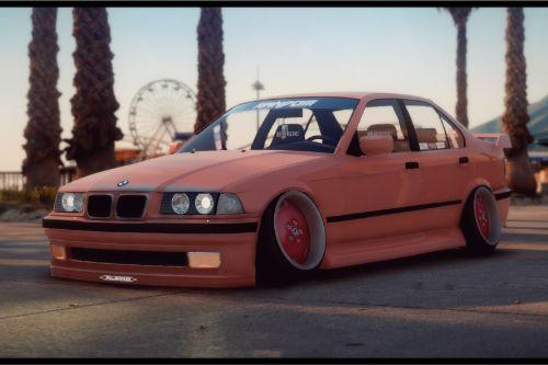 BMW E36 328i 4 Door [Add-On / Replace]