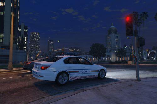 BMW E60 Politia Romana / Romanian Police
