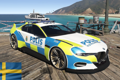 BMW Hommage R Swedish Police