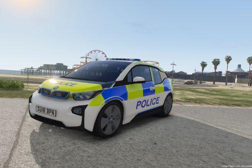 BMW I3 Marked Generic Police Car