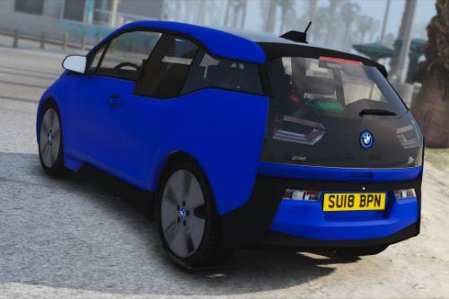 BMW I3 Unmarked Generic Police Car [ADDON+REPLACE]