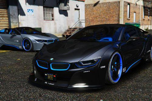 BMW I8M Liberty Walk [Add-On | Tuning]