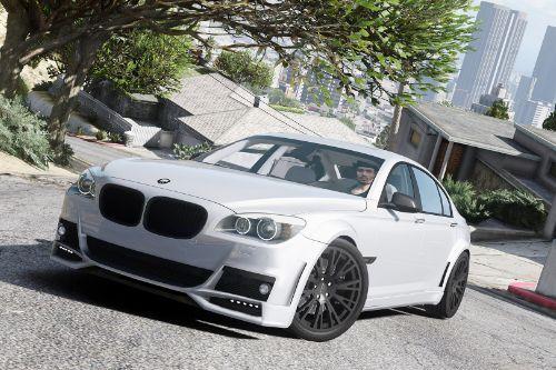 BMW Lumma CLR 750 [Add-On / Replace]
