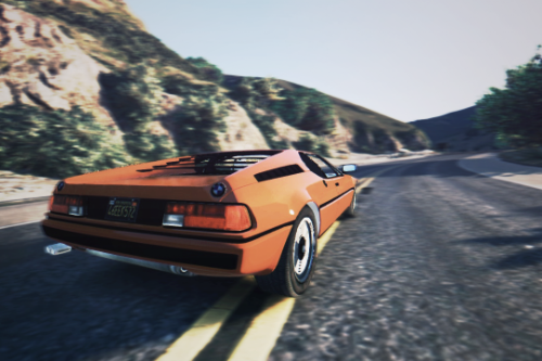BMW M1 1979 (E26) [Add-On | Replace]