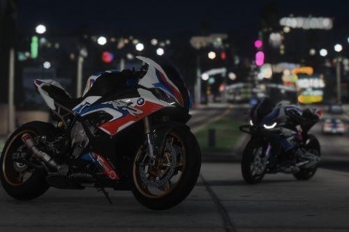 BMW M1000RR Livery For 2020 BMW S1000RR [4K]