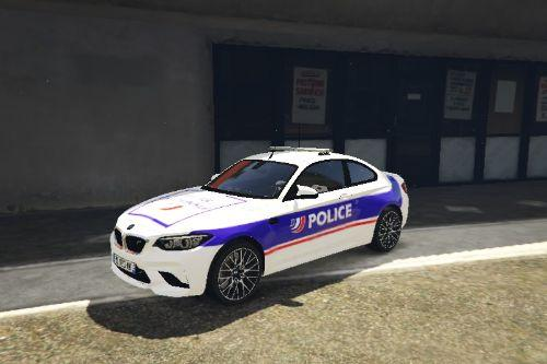 Bmw M2 police nationale