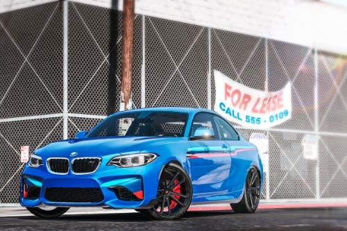 BMW M2 Stripes