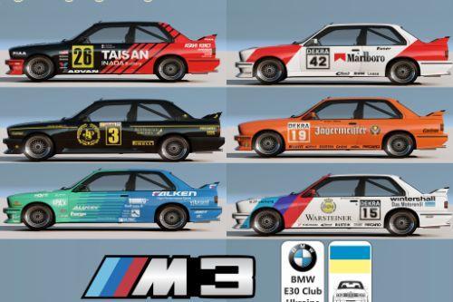 [BMW M3 E30 1990] livery