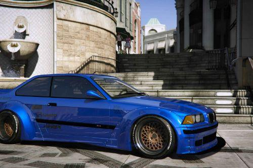 BMW M3 E36 Rocket Bunny (Sarto Racing) [Add-On]
