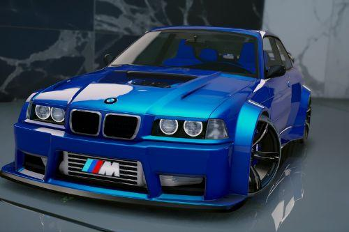 BMW M3 E36 V8 Biturbo [Add-On | Tuning]