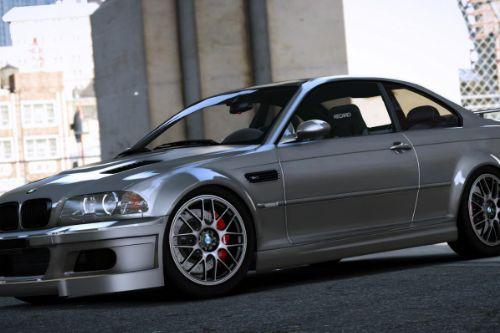 BMW M3 E46 2005 [Add-On  Template]