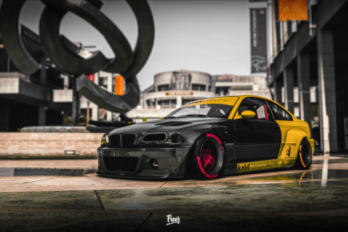 Bmw M3 E46 2003 Rocket Bunny [Add-on / Replace]