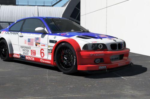 BMW M3 E46 GTR ALMS livery