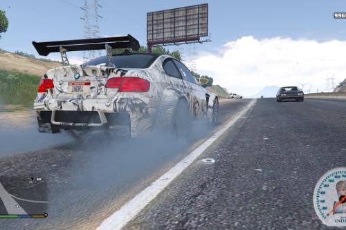 BMW M3 (E92) Ahegao Livery