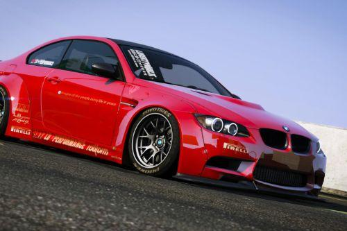 BMW M3 E92 Liberty Walk 2010