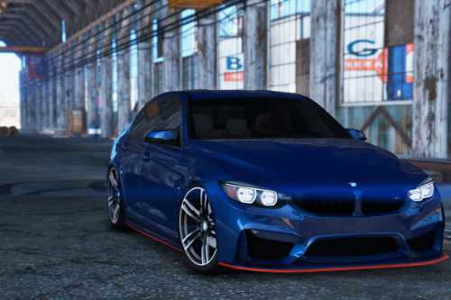 BMW M3 F80 2015 [Add-On / Replace]