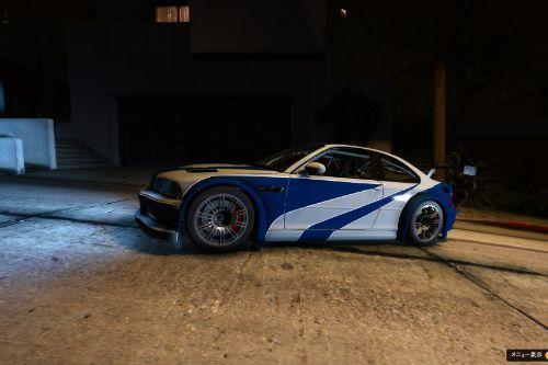 BMW M3 GTR E46 CARBON livery