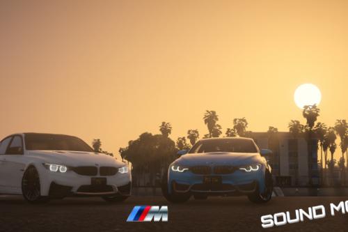 BMW M3/M4 sound mod