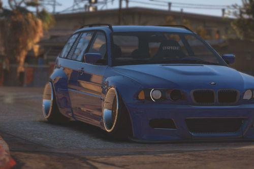 BMW M3 Touring Rocketbunny Pandem [Add-On | Replace]