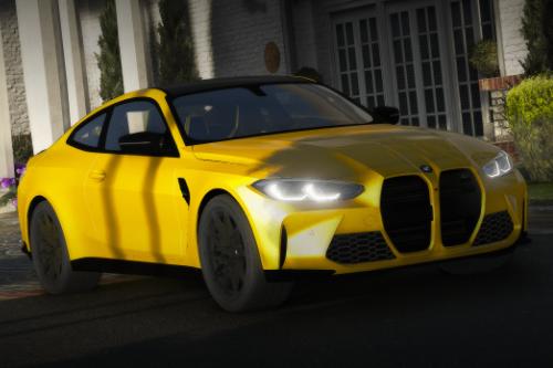 BMW M4 2021 [Replace / Add-On | FiveM | Unlock]