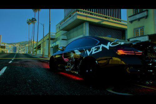 BMW M4 F82 Venom Paintjob (+Custom Handling)