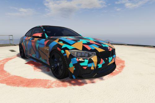 BMW M4 livery - Pattern Design Skin [Paintjob]