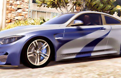 BMW M4 NFS Most Wanted Vinyl