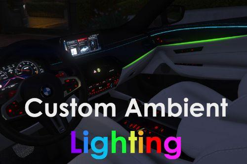 BMW M5 Competition Custom Ambient Lighting