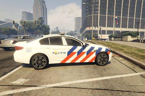 BMW M5 Dutch Police [ELS] (Skin)